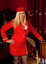 Anilos - Naughty Stewardess Featuring Michelle B. (photos)