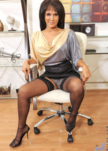 Anilos - Officesquirt Featuring Anjanette Astoria. (photos)