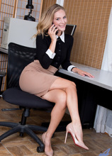 Anilos - Hard At Work Featuring Mona Wales. (photos)